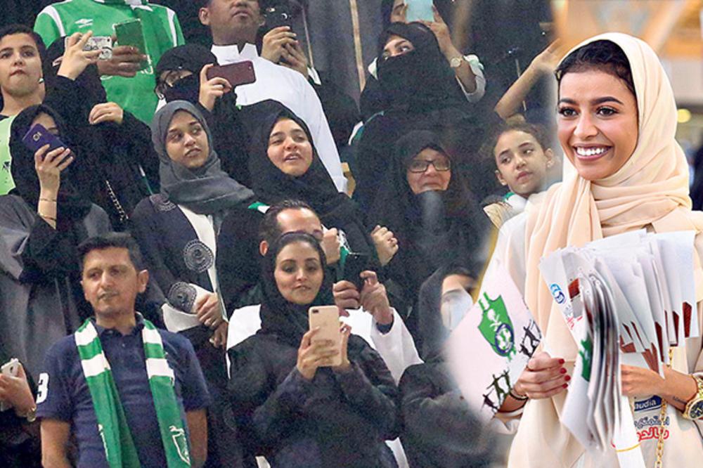 ISLAMSKA KRALJEVINA SE OTVARA: Saudijke sada mogu na stadion