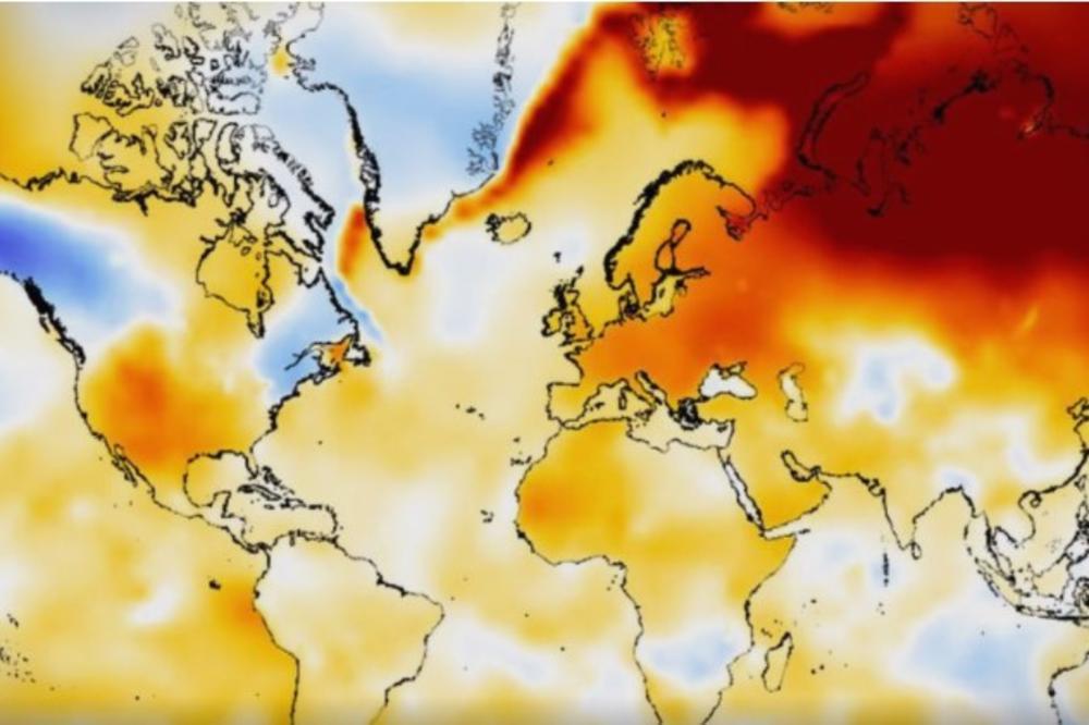 NIKAD CRNJE PROGNOZE – Poslednje tri godine su najtoplije ikada zabeležene, a biće još gore!
