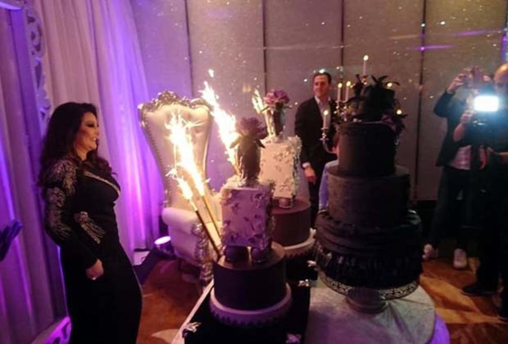 govori za 50 rodjendan VIDEO) ŽURKA ZA PAMĆENJE: Pogledajte glamuroznu tortu Dragane  govori za 50 rodjendan
