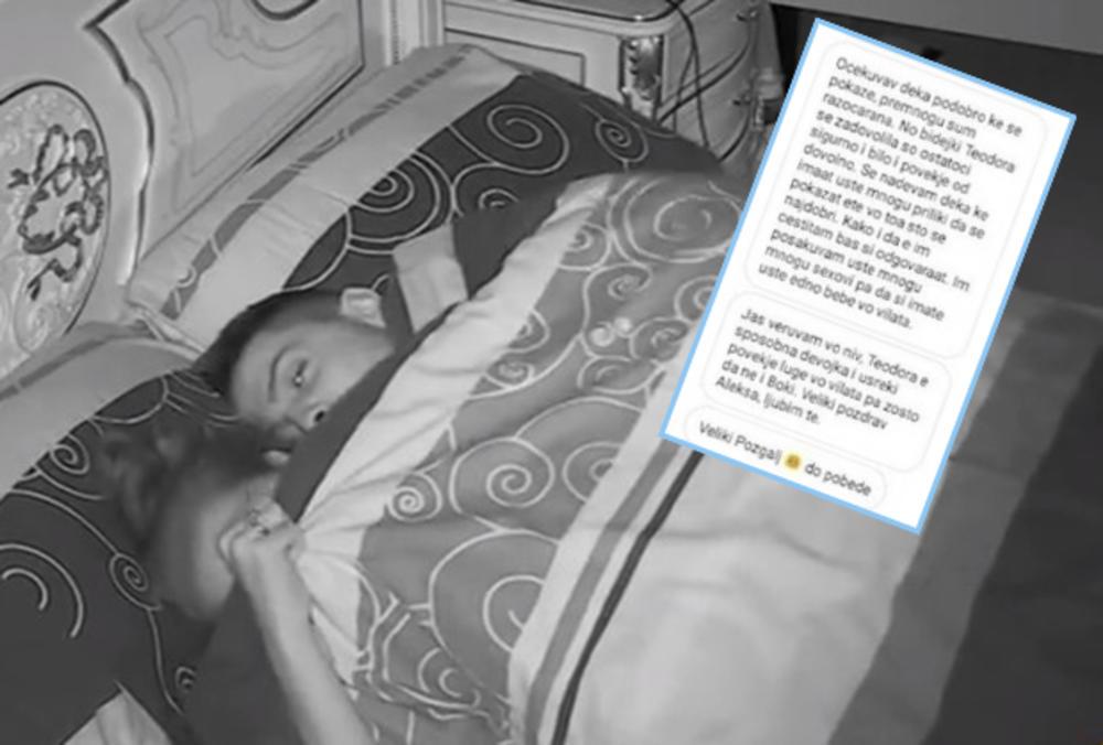 BRUKA I SRAMOTA: Posle akcije sa Teodorom, procurila poruka Bojanove devojke! Evo kako ona izgleda i šta je rekla o ovom činu!