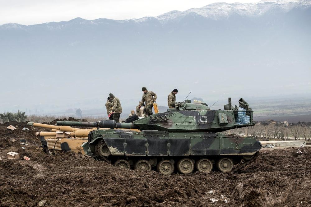 SPORAZUM DAMASKA I KURDA: Sirijska vojska ulazi u Afrin da se suprotstavi turskoj vojsci i FSA