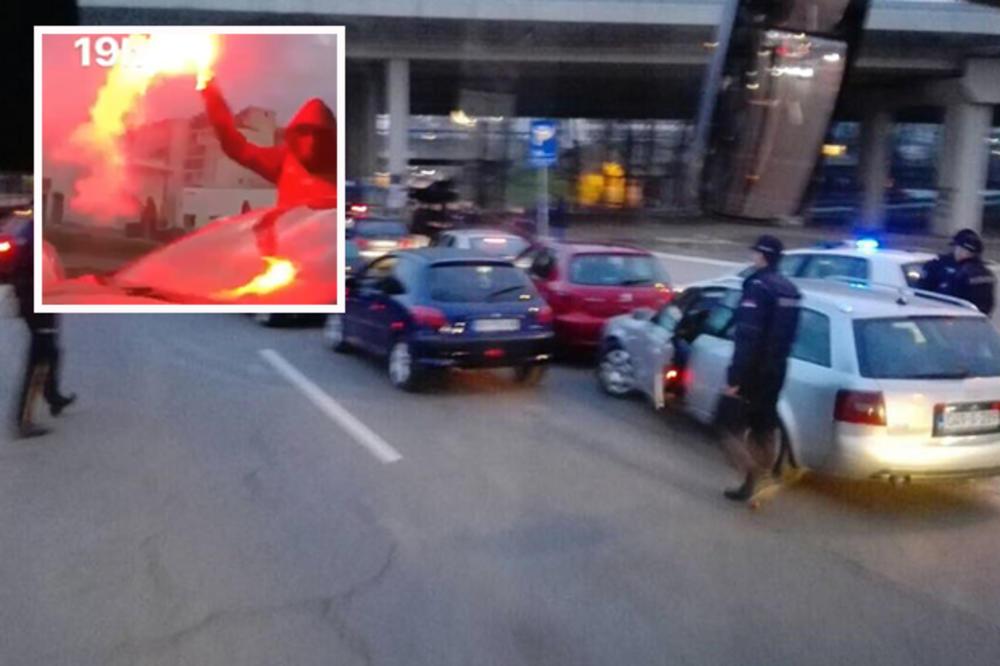 (VIDEO) POLICIJA ZAUZELA CEO BEOGRAD: Zaraćene frakcije Grobara se bore oko prevlasti! Haos u glavnom gradu