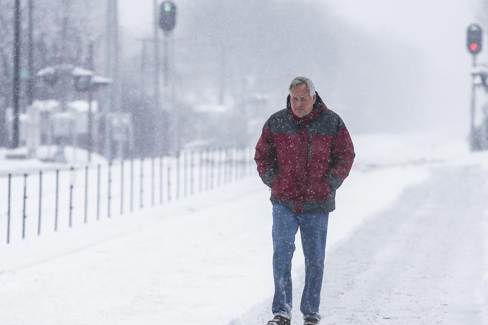 Zima Se Vraća Na Velika Vrata Ledeni Talas Sledeće Nedelje