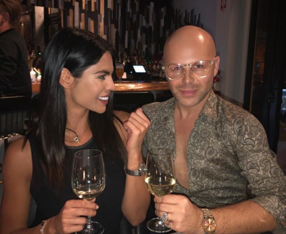 (FOTO) LEPA VREMENA: Svi se pitaju čemu su Deen i Džumhurova Dejana veselo nazdravljali u Los Anđelesu?!