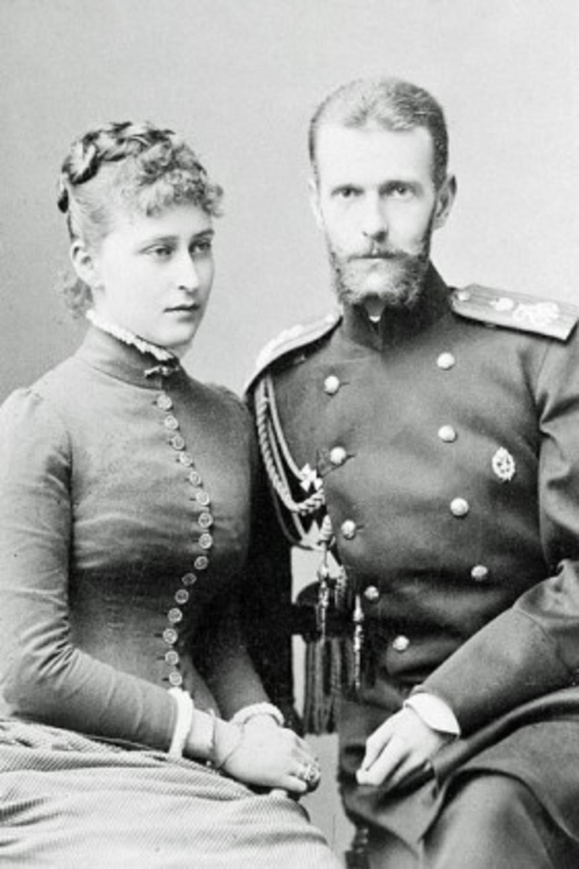 Kneginja Jelisaveta i njen suprug Sergej Romanov
