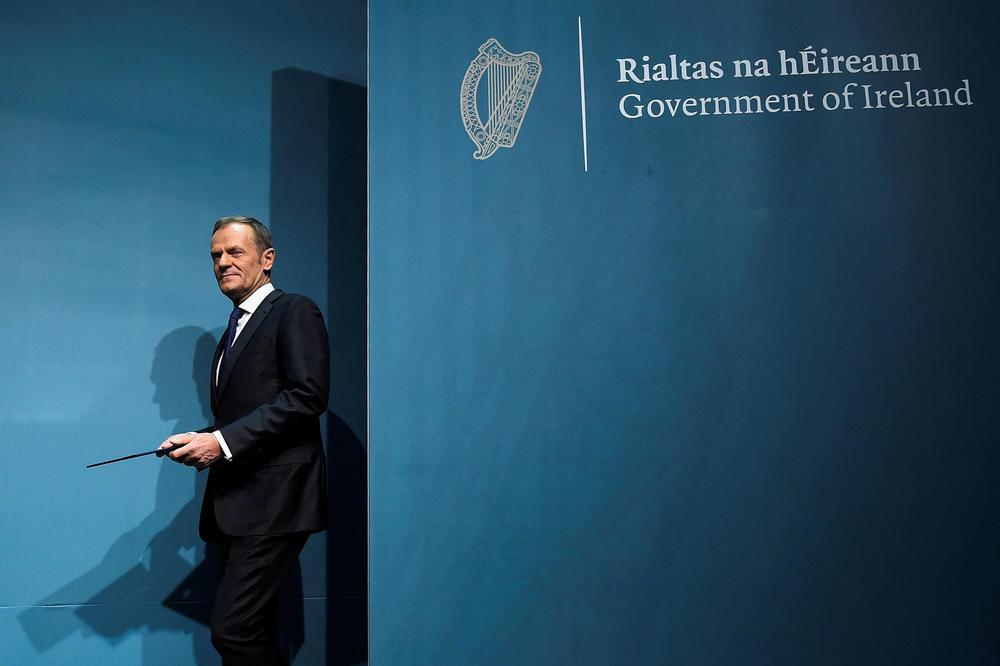 DONALD TUSK O BREGZITU: Nema dogovora sa Velikom Britanijom bez rešenja irske granice