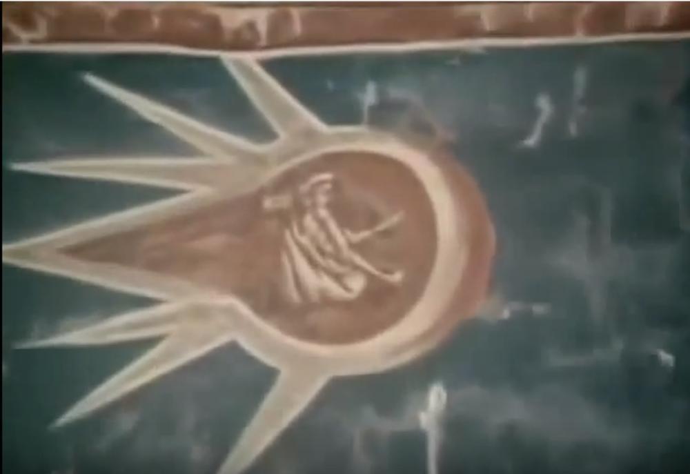 Freska 'Raspeće Isusovo