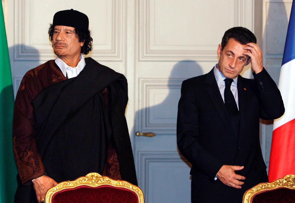 """SARKOZIJA SASLUŠAVAJU ZBOG GADAFIJEVOG NOVCA? """"Ja sam ga napravio predsjednikom"""", rekao je Gadafi u intervjuu 2011."""