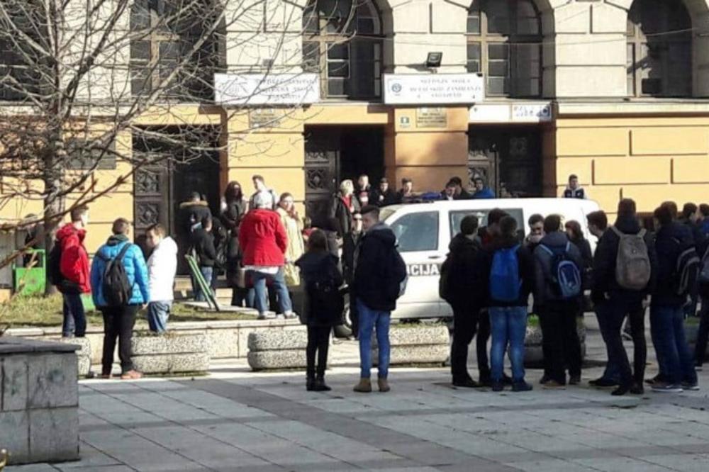Rezultat slika za Još jedna lažna dojava bombe u sarajevskoj školi