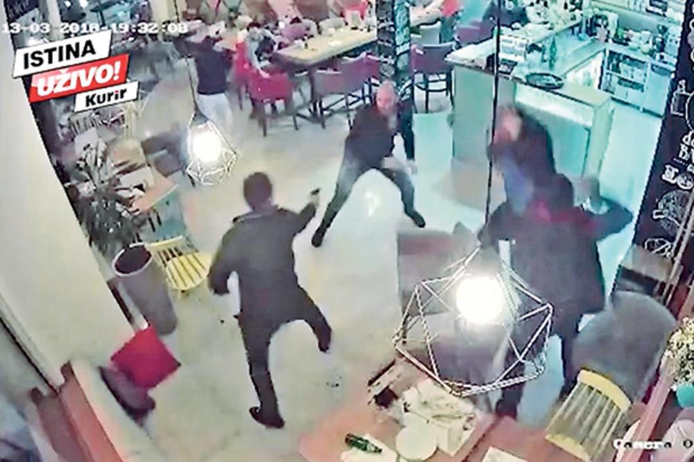 UZNEMIRUJUĆI VIDEO) POSLE PISANJA KURIRA: Policija hapsi nasilnike
