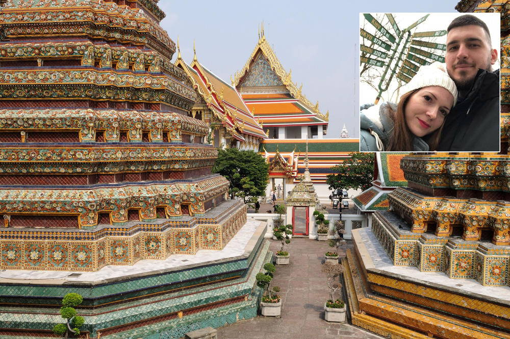 VLADIMIR JE SLIKAO NADICU NA ZIDU BUDINOG HRAMA U BANGKOKU: Tajlandska policija ih je odmah privela na aerodromu, a kazna je bila paprena!