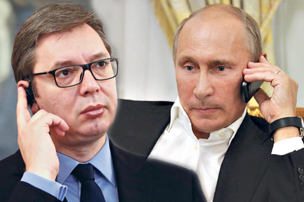 PUTINOV POZIV KONAČNO STIGAO U BEOGRAD: Vučić ide na inauguraciju ruskog predsednika