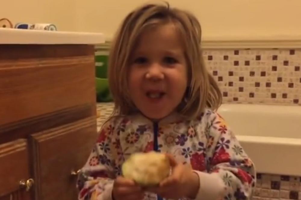 (VIDEO) OVO DEVOJČICA (4) JE HIT: Ako ne znate kako se prave bebe, ona će vam sve OBJASNITI!