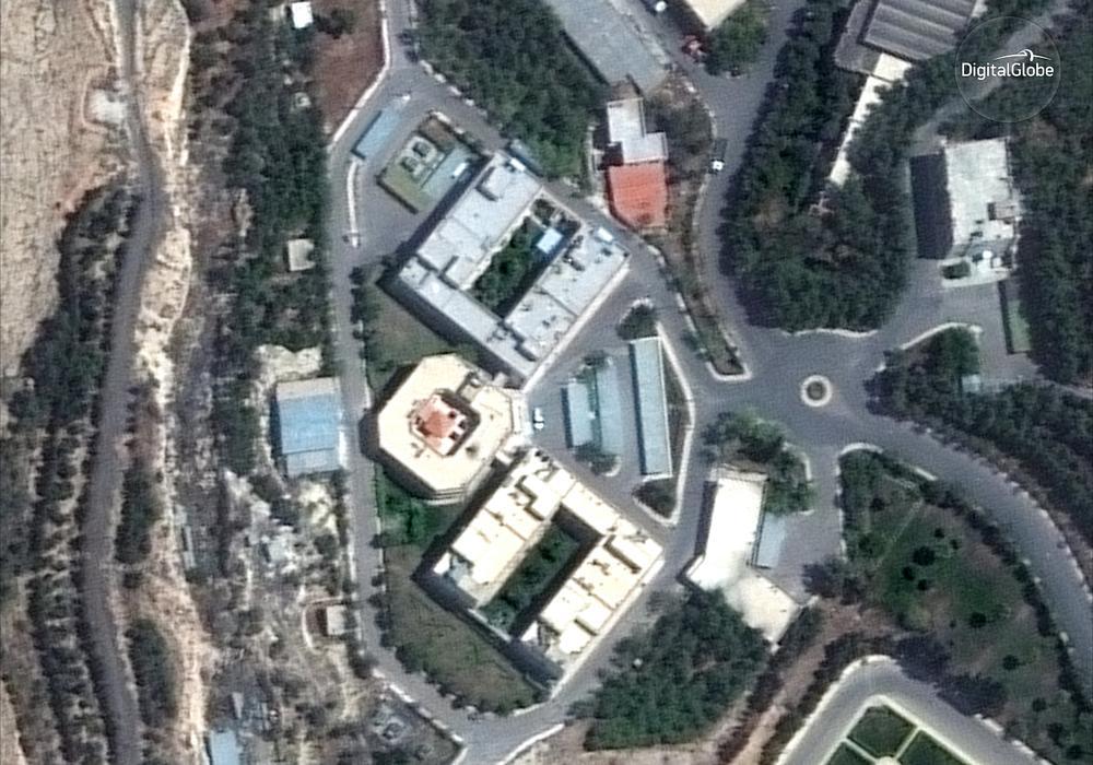 Istraživački centar Barzah pre bombardovanja