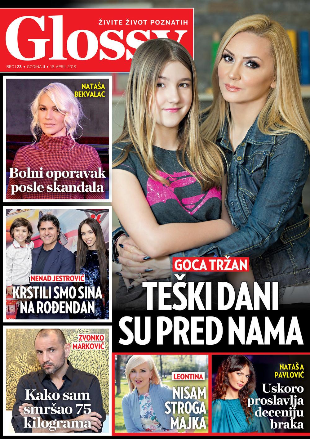 U INTERVJUU ZA GLOSSY Goca Tržan: Teški dani su pred nama!