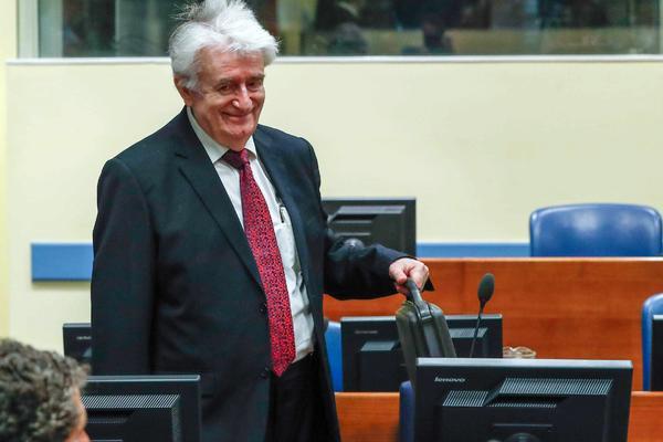 HASKI SUD U DECEMBRU IZRICE KARADZICU PRAVOSNAZNU PRESUDU: Oseca se dobro, sudija mu obecao uskoro i hranu sa Balkana