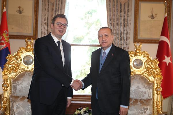 VUČIĆ POČINJE POSETU TURSKOJ: Danas u Istanbulu priča sa Erdoganom,
