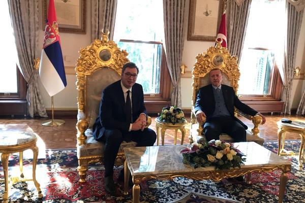 PREDSEDNIK SRBIJE U POSETI TURSKOJ: Vučić sutra kod Erdogana