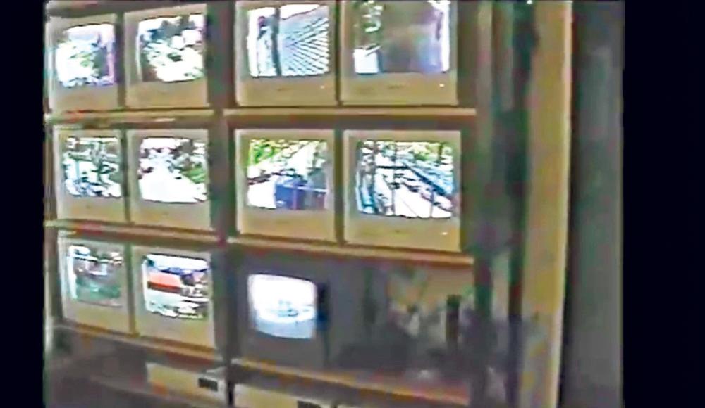 Kamere na svakom ćošku... Najmodernija oprema u kući