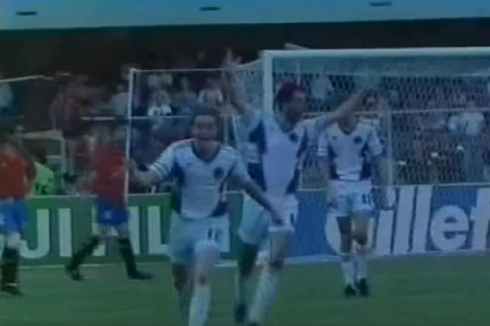 PIKSI DIGAO JUGOSLAVIJU NA NOGE: Ovo je najlepši gol naše reprezentacije na svetskim prvenstvima ikada (VIDEO)