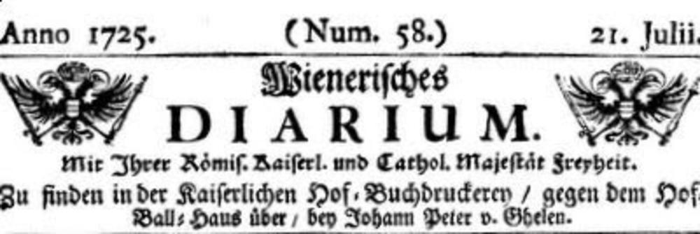 Naslovna strana austrijskih novina koje su objavile tekst o vampiru