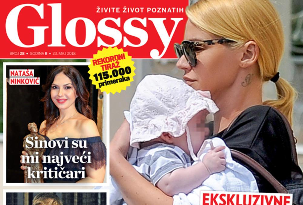 DANAS NOVI GLOSSY Ekskluzivne fotografije Nataše Bekvalac