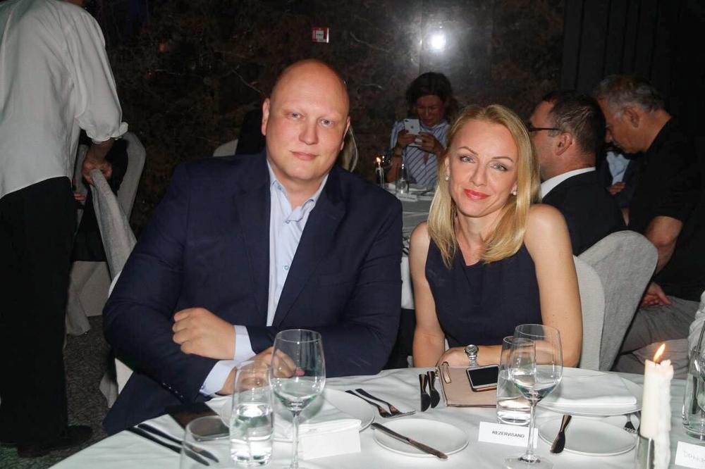 Glavni i odgovorni urednik Kurira Nemanja Pajić i direktor marketinga Irena Petrović