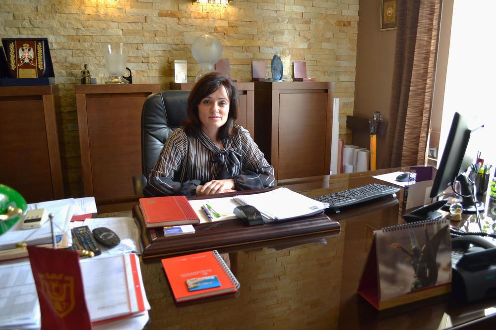 PROJEKAT MOJA OPŠTINA, MOJ GRAD Gradonačelnica o privrednim aktivnostima: Investitori vole Kruševac