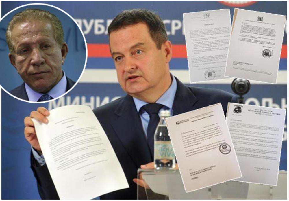 LAŽNA DRŽAVA PODMIĆUJE KRVAVIM NOVCEM Dačić: Pacoli sa 500.000 dolara hteo da kupi priznanje! KONGO IH ODUVAO!
