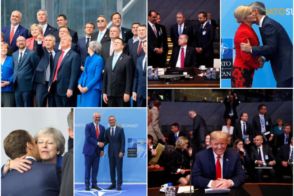 NATO SAMIT U SLIKAMA: Tramp ponovo dominirao, a Edi Rama je briljirao svojim stajlingom! (FOTO)