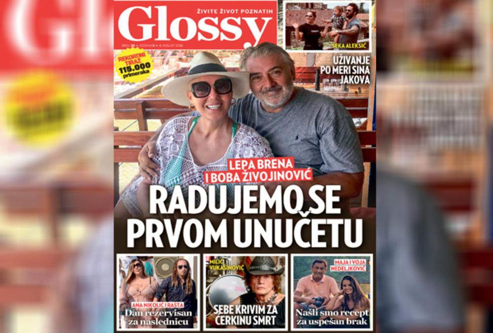 INTERVJU ZA GLOSSY: Lepa Brena i Boba Živojinović u iščekivanju prvog unučeta