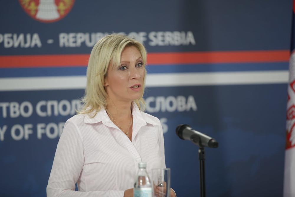 ZAHAROVA O PODELI KOSOVA: Rusija će prihvatiti sve što je prihvatljivo za narod Srbije