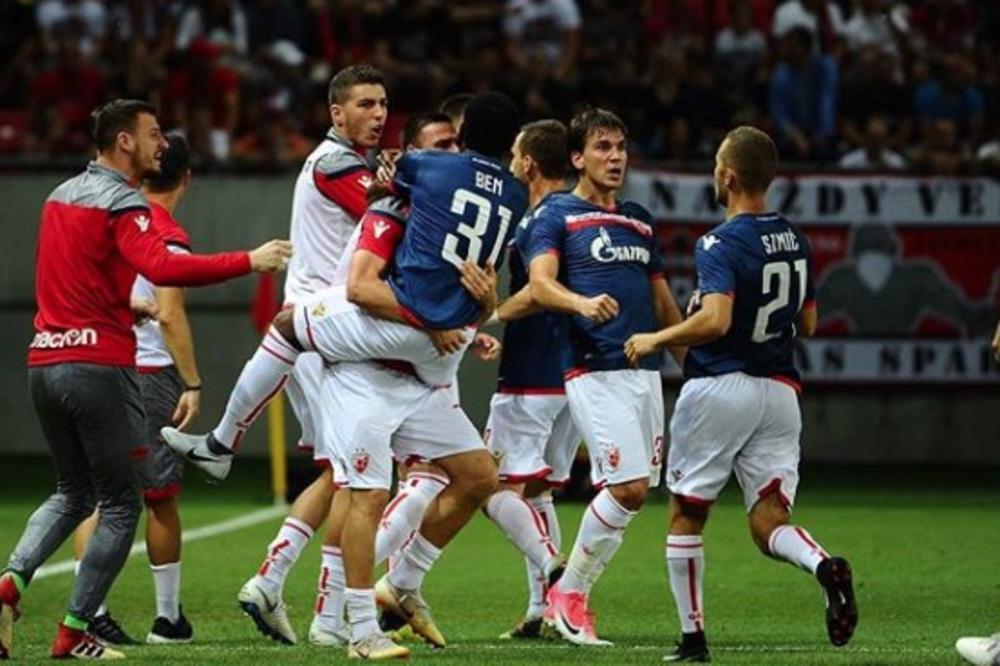 ZVEZDA NA KORAK OD LIGE ŠAMPIONA: Ben i Radonjić srušili Spartak u Slovačkoj! Crveno-beli protiv Salcburga za plasman među velikane! (KURIR TV)