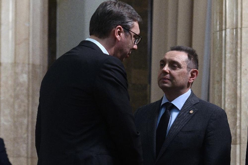 VULIN U BORBI ZA JOŠ JEDAN MINISTARSKI MANDAT: Vučić je predsjednik svih Srba, treba da stvori 'srpski svet'