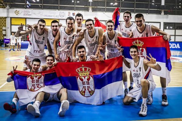 KADETI PETI U NOVOM SADU: Srbija pobedom nad Grckom zavrsila Evropsko prvenstvo