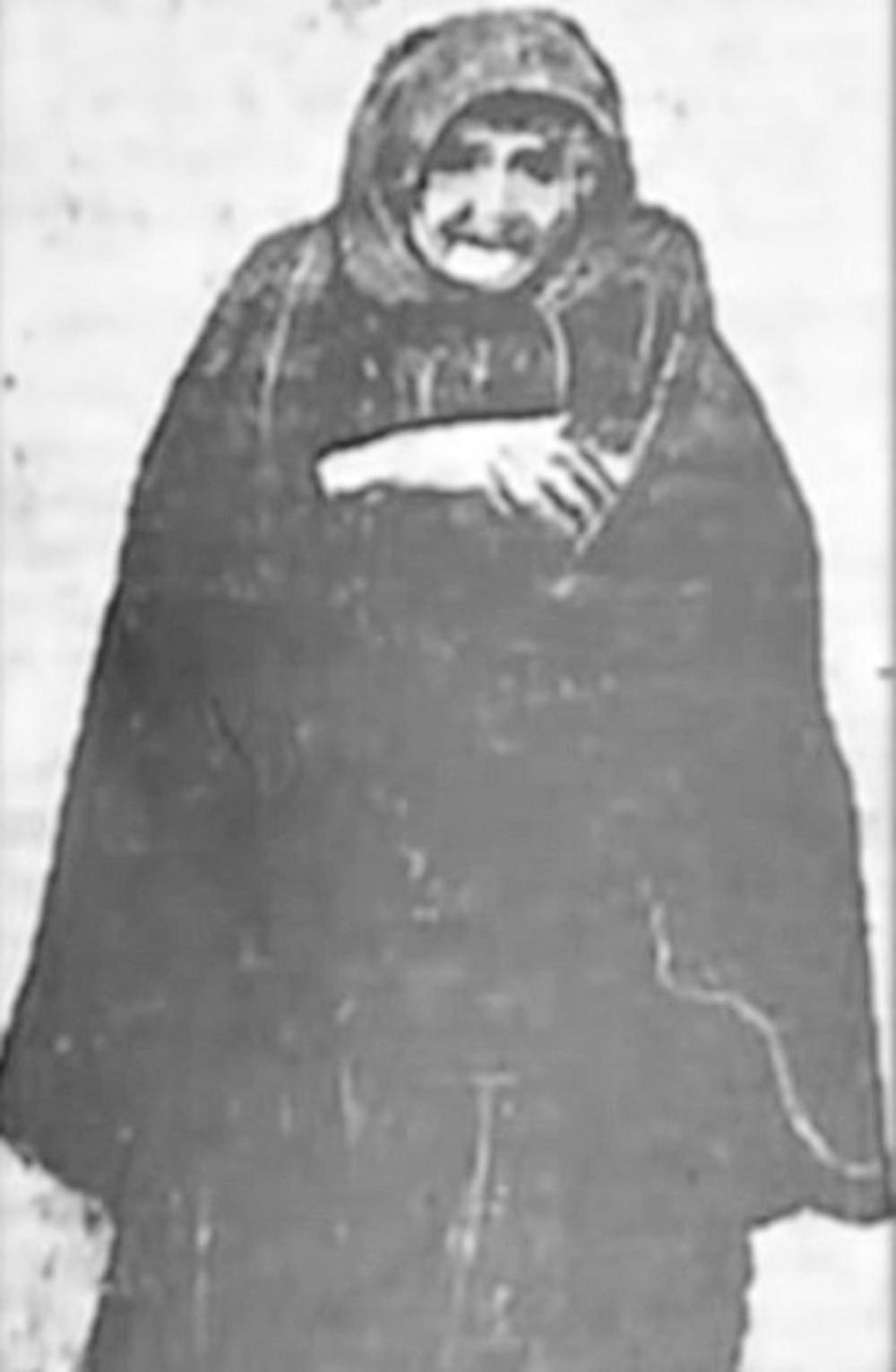 Prva trovačica...Baba Anujka
