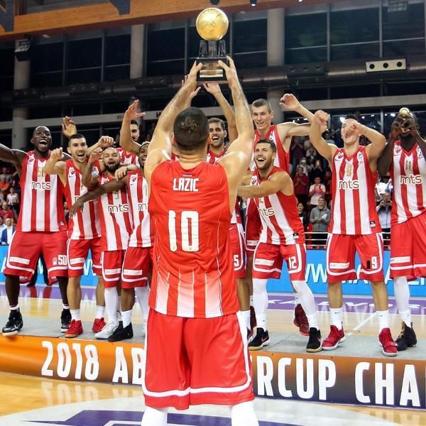 Zvezdina osveta Budućnosti: Crveno-beli osvojili ABA Superkup