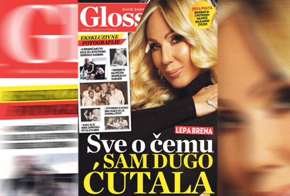NOVI GLOSSY VAM DONOSI PRVU PRAVU BIOGRAFIJU S POTPISOM NAJVEĆE BALKANSKE ZVEZDE: Sve tajne poslednje Jugoslovenke