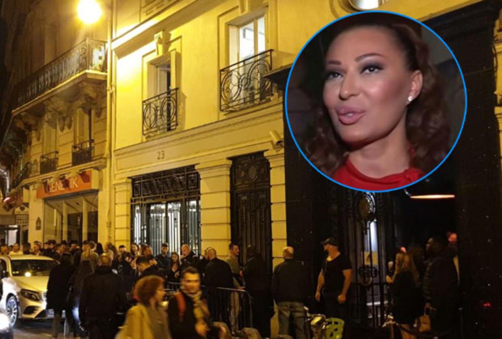 FANOVI BLOKIRALI ULICU ZBOG CECE! Sjatio se ceo Pariz, SAOBRAĆAJ STOJI! (KURIR TV)