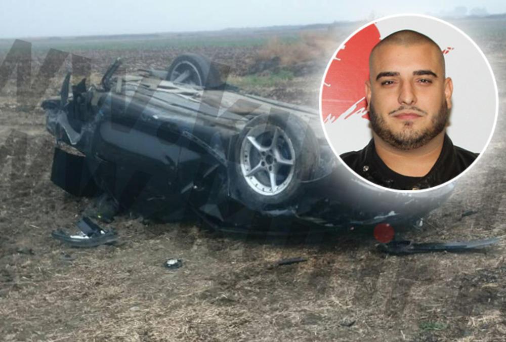 DARKO LAZIĆ DOŽIVEO TEŠKU  SAOBRAĆAJKU: Sleteo autom s puta i prevrnuo se na KROV! JEDVA GA IZVUKLI iz smrskanih kola (FOTO)