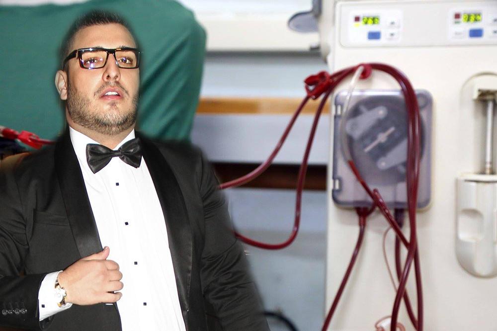 DARKO LAZIĆ DOBIO VISOKU TEMPERATURU: Lekari ne znaju šta se dešava s pevačevim telom