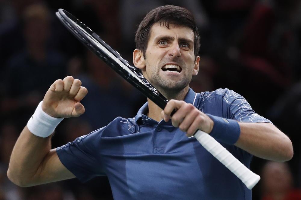 NOVAK IZBACIO SVE IZ SEBE: Pogledajte kako je Đoković proslavio pobedu nad Federerom u Bersiju (VIDEO)