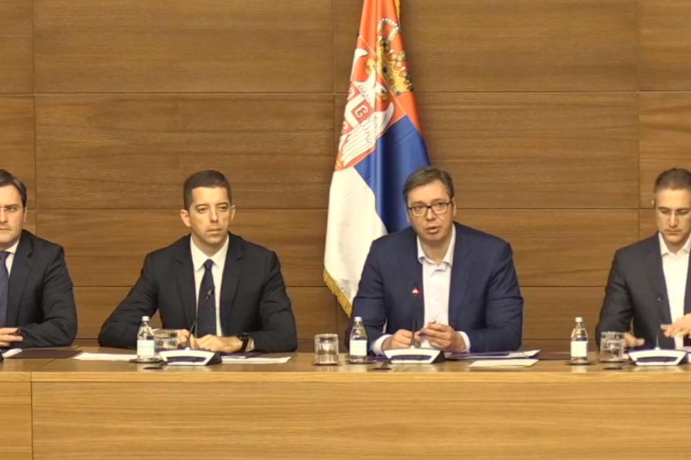 Vučić Punim Severu Rosu Dolaze Ka Jedinice Kosova Krenule UqUx0Owr