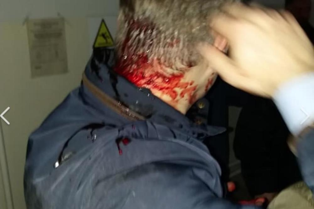 Atentat u Kruševcu na jednog od lidera opozicije, Borka Stefanovića! (Snimak)