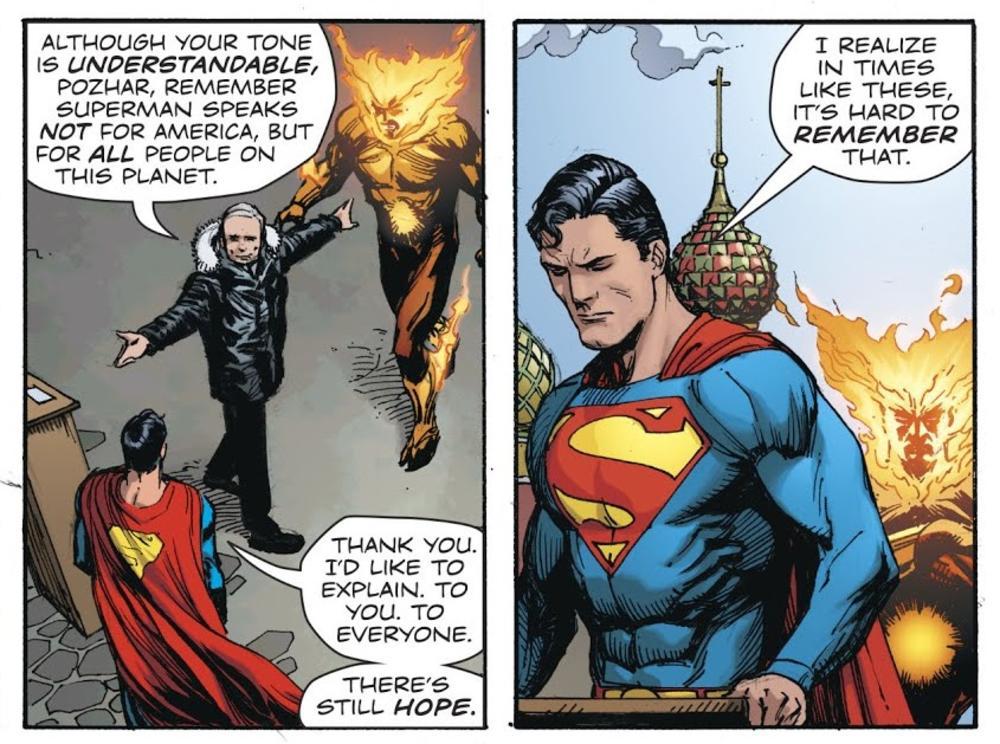 Ljuti protivnici... Supermen i Vladimir Putin