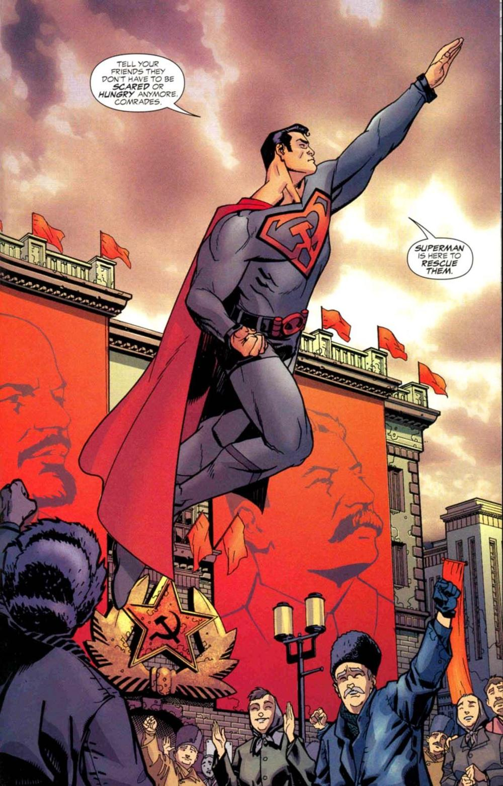Rusija u stripu... Supermen među Sovjetima