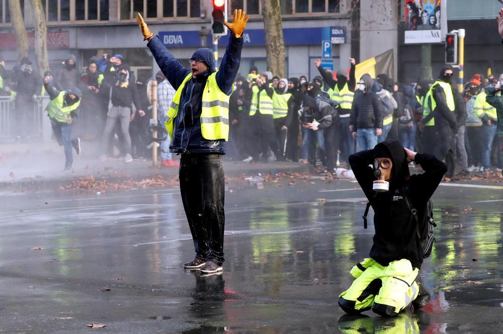 Žuti prsluci i u Belgiji