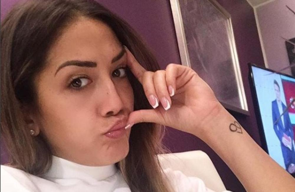 NEDAVNO RASKINUO VERIDBU: Milena Ćeranić je godinama bila u vezi sa Nemanjom Stevanovićem, volela je i košarkaša, a sad je objavljen snimak kako se LJUBI sa OVIM reperom (VIDEO)