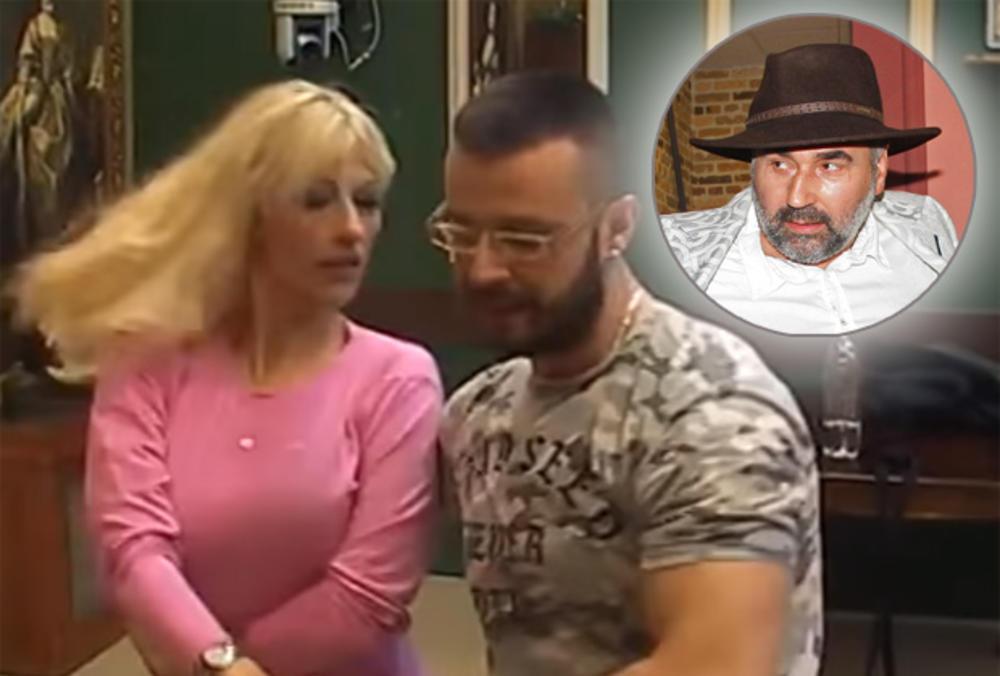 SUZANA U ČVRSTIM RUKAMA KOREOGRAFA OBNOVILA ZNANJE: Pčelar pojma nije imao da mu DRAGA IGRA PRLJAVI PLES u pabu sa Vladimirom! Preznojila ga! (VIDEO)