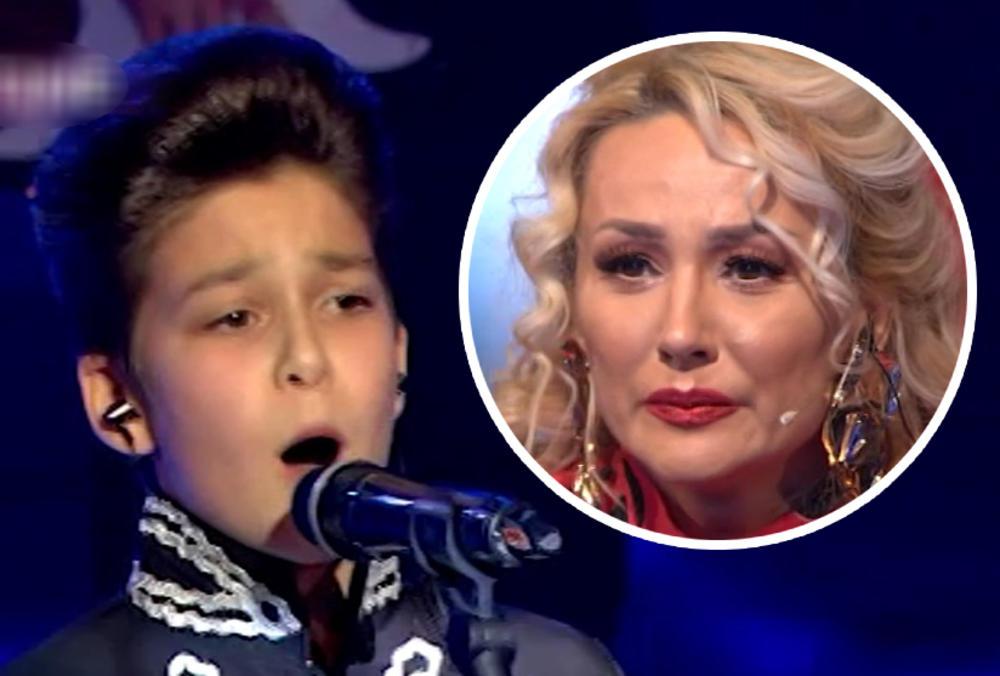 DEČAK SA KOSOVA IMITIRAO TRKULJU, A ŽIRI PAO U TRANS: Leontini zastala knedla u grlu, a Goca zaplakala! Ja ovo u životu NISAM ČULA! (VIDEO)